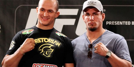 Cigano x Mir 445x222 Cigano promete nocautear Frank Mir no UFC 146