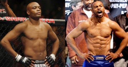 Combate entre Anderson (esq.) e Jones Jr (dir.) voltou a ser especulado. Foto: Produção MMA Press (Divulgação)