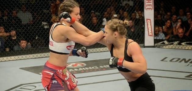 Depois de semanas de provocações e muita rivalidade, Ronda Rousey e Miesha Tate acertaram as desavenças na segunda luta mais importante do UFC 168, evento realizado nesta noite (28), em […]