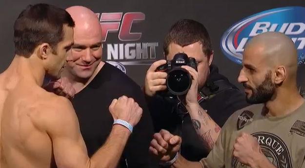 Os lutadores bateram o peso sem grandes problemas para o UFC Fight Night 35, que será realizado nesta quarta-feira (15) em Atlanta, no estado norte-americano da Geórgia. Luke Rockhold e […]