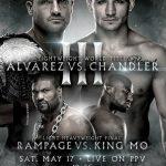 Bellator fará em maio seu primeiro evento de pay-per-view. Foto: Divulgação