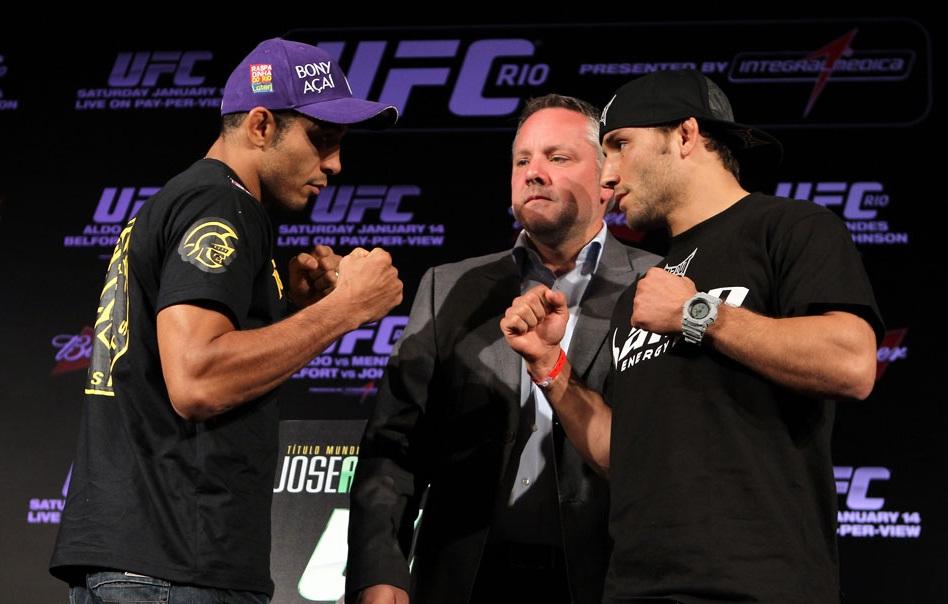 Na última semana,uma lesão de José Aldo fez com que o brasileiro deixasse a luta principal do UFC 176, em que o campeão dos penas enfrentaria o desafiante Chad Mendes. […]