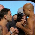 Edgar (esq.) e Penn (dir.) se enfrentarão pela terceira vez neste domingo. Foto: Reprodução/YouTube