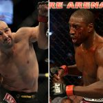 Glover (esq.) e Davis (dir.) irão duelar no UFC 179, no Rio. Foto: Produção Super Lutas (UFC/Divulgação)