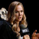Ronda (foto) defendeu o UFC e elogiou Zingano. Foto: Josh Hedges/Zuffa LLC