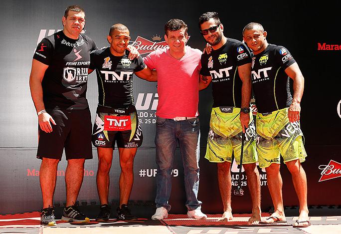 Nesta sexta-feira (24), véspera do UFC 179, todas as atenções do mundo do MMA estão voltadas à balança localizada no ginásio do Maracanãzinho, no Rio de Janeiro, onde será realizada […]