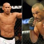 Luta entre Jacaré (esq.) e Henderson (dir.) está nos planos de Distak. Foto: Produção MMA Press (Divulgação/UFC)