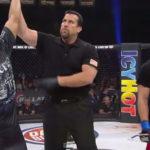 A. Chatuba vence na estreia do Bellator. Foto: Reprodução/Youtube