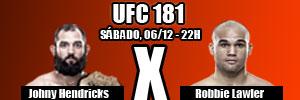 UFC -181 - Hendricks x Lawler - Disputa do cinturão dos meio-médios