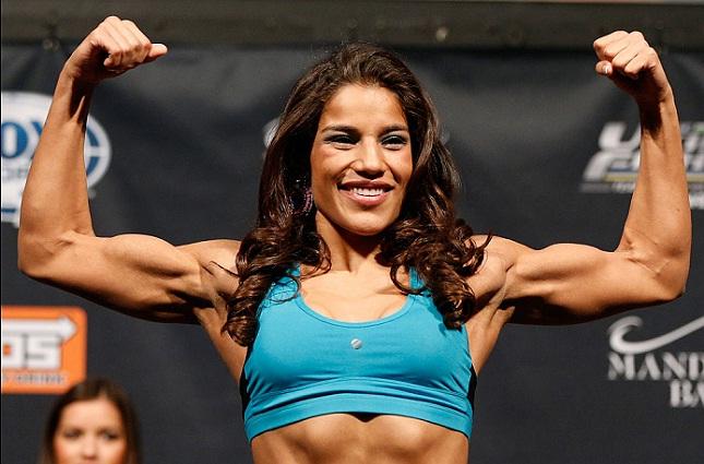 J. Peña (foto) está a uma vitória de lutar contra Amanda Foto: Josh Hedges/UFC