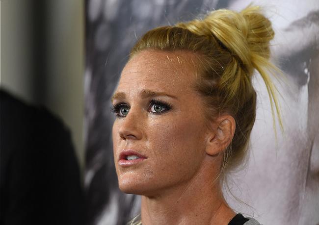 Holm (foto) criticou lado mental de Ronda Rousey Foto: Divulgação