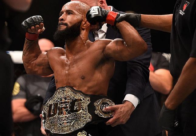 D. Johnson já fez nove defesas de cinturão (Foto: UFC)