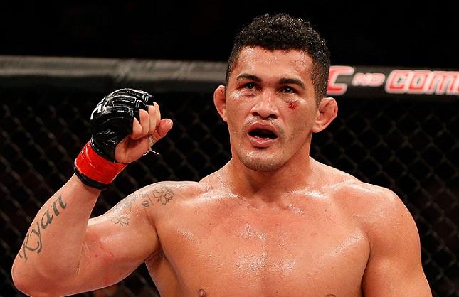 F. Bodão (foto) ficará 180 dias de molho. Foto: Josh Hedges/UFC