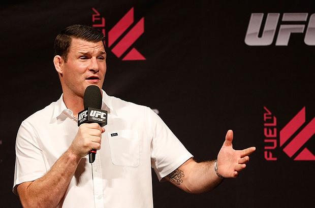 Bisping (foto) falou sobre duelo Mayweather x McGregor (Foto: Josh Hedges/UFC)