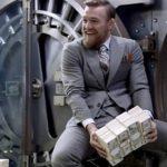 Será que pilha de dinheiro de McGregor vai continuar a crescer?. Foto: Reprodução
