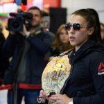 Joanna (foto) enfrenta brasileira Foto: Adam Nurkiewicz/UFC
