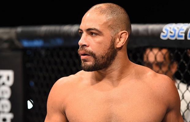 Thales (foto) luta no UFC São Paulo. Foto: Josh Hedges/UFC
