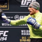 McGregor tem afiado seu boxe Foto: UFC