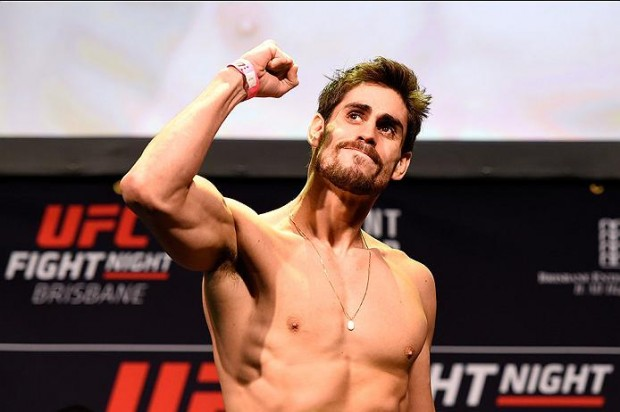 Cara de Sapato conquistou vitória na luta agarrada Foto: Divulgação/UFC