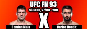 ASSISTIR UFC DEMIAN MAIA X CARLOS CONDIT