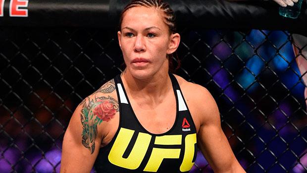 Cyborg não deixou barato para B. Stann (Foto: UFC)