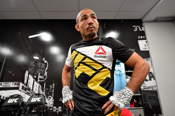 J. Aldo voltou a provocar Holloway. (Foto: Getty Images)