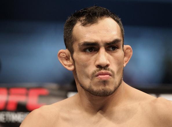 T. Ferguson (foto) se irritou com N. Diaz (Foto: UFC)