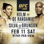 Trailer promocional do UFC 208 foi divulgado nesta terça-feira (17). (Foto: Reprodução)