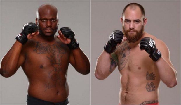 Lewis (esq) e Browne (dir) vão se enfrentar dia 19 de fevereiro. (FOTO: Produção SUPER LUTAS / Divulgação)