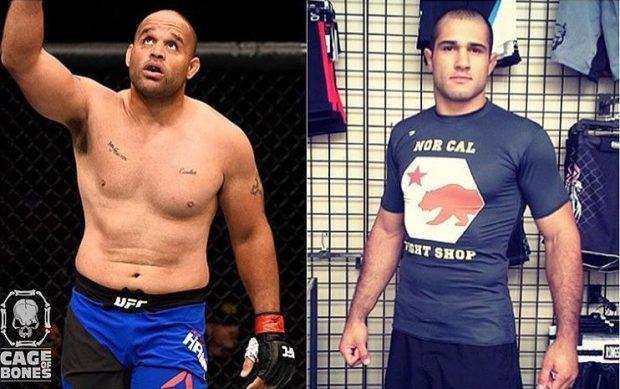 Marcel (dir) é o novo contratado do UFC. (Foto: Divulgação)
