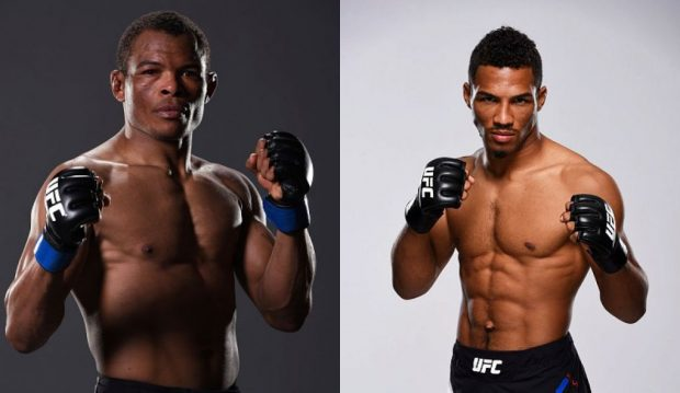 Massaranduba (esq) lutará contra Lee (dir) em Fortaleza (FOTO: Getty Images/ARTE: SUPER LUTAS)