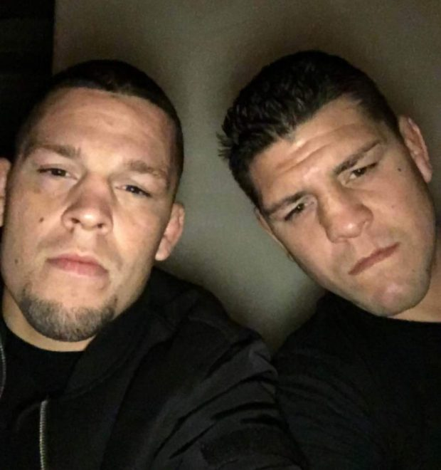 Nate e Nick Diaz são usuários notórios de maconha (FOTO: Reprodução)