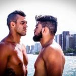Belfort (esq) e Gastelum (dir) lutam em março (FOTO: Reprodução UFC Brasil)