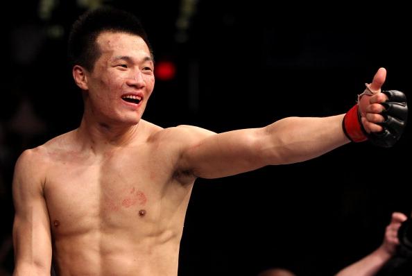 Sung Jung retorna ao octógono após mais de três anos afastado do MMA. (Foto: Getty Images)