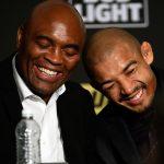 Aldo (dir) acredita em vitória de Anderson (esq) no UFC 208. (Foto: Getty Images)