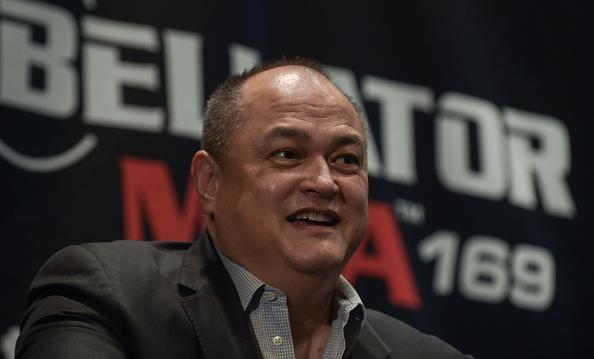 Coker é o presidente do Bellator. (Foto: Getty Images)