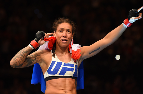 G. De Randamie disputa título pena no UFC 208 (FOTO: Josh Hedges/Getty Images)
