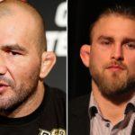 Glover (esq.) encara Gustafsson (dir.) no UFC Suécia. Foto: Produção SUPER LUTAS