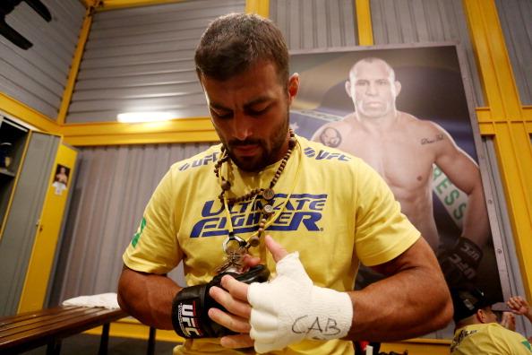 R. Demente participou do TUF Brasil 3 (FOTO: Luiz Pires Dias/Getty Images)