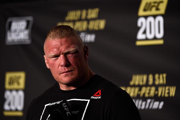 B. Lesnar voltou a se aposentar (FOTO: Jeff Bottari/ Getty Images)