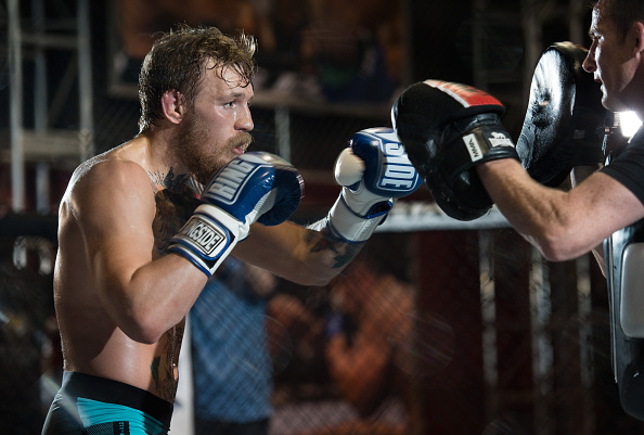 C. McGregor tem focado treinos no boxe (FOTO: Brandon Magnus/UFC)