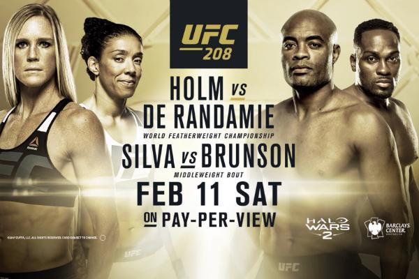 UFC 208 acontece neste sábado (11), no Brooklyn (EUA). (Foto: Divulgação)