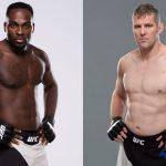 Brunson (esq) e Kelly (dir) vão se enfrentar em junho. (Foto: UFC/Produção: SUPER LUTAS)