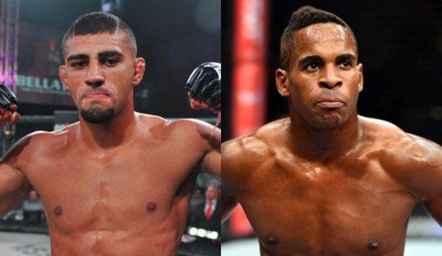 Douglas e Larkin vão se enfrentar em junho. (Fotos: Divulgação/Montagem: Super Lutas)