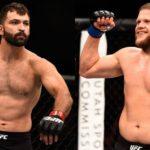 Arlovski (esq) e Tybura (dir) se enfrentam em junho (Fotos: UFC/Montagem: Super Lutas)