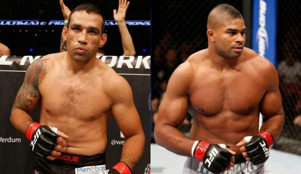 Werdum (esq) e Overeem (dir) se enfrentam em julho (Fotos: UFC/Montagem: Super Lutas)