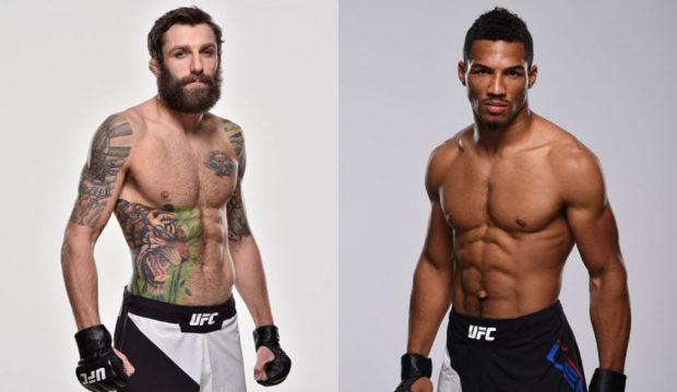 Chiesa (esq) e Lee (dir) se enfrentam em junho. (Fotos: UFC/Montagem: Super Lutas)