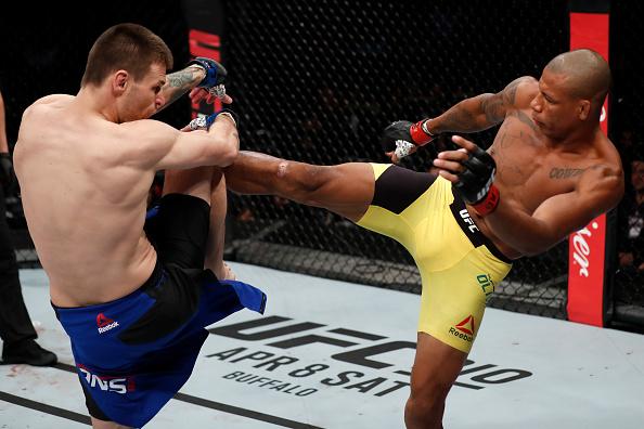 Cowboy derrotou Means na revanche. (Foto: Buda Mendes / UFC)