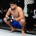 Gastelum foi criticado pelo STJDMMA(Foto: Buda Mendes/UFC)