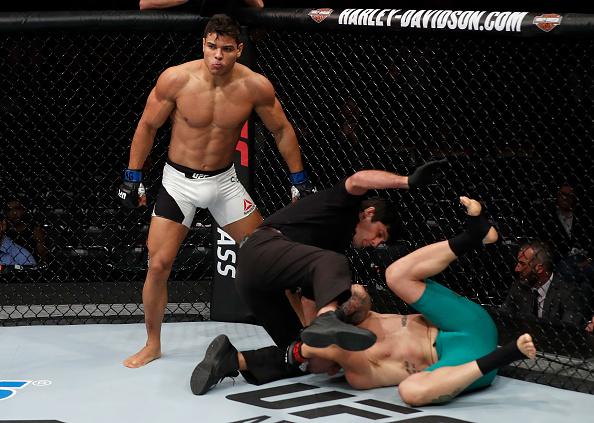 Borrachinha despachou McLellan em 77 segundos. (Foto: Buda Mendes/UFC)
